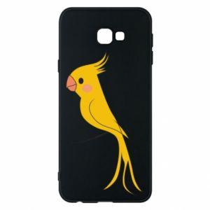 Etui na Samsung J4 Plus 2018 Yellow parrot