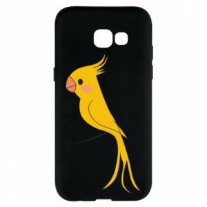 Etui na Samsung A5 2017 Yellow parrot