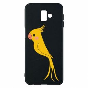 Etui na Samsung J6 Plus 2018 Yellow parrot