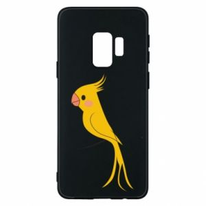 Etui na Samsung S9 Yellow parrot