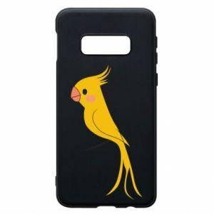 Etui na Samsung S10e Yellow parrot