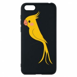 Etui na Huawei Y5 2018 Yellow parrot