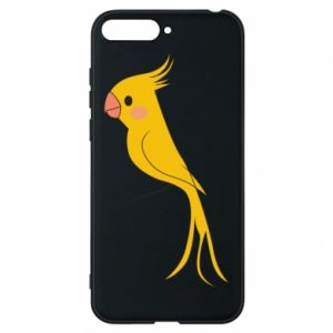 Etui na Huawei Y6 2018 Yellow parrot