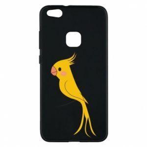 Etui na Huawei P10 Lite Yellow parrot