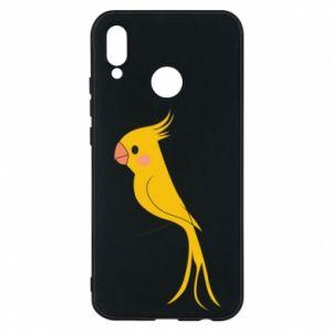Etui na Huawei P20 Lite Yellow parrot