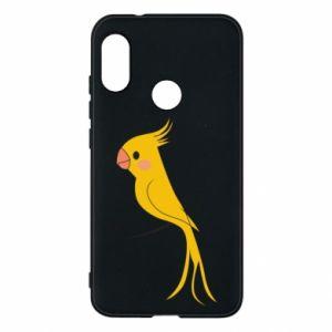 Etui na Mi A2 Lite Yellow parrot