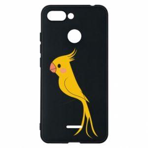 Etui na Xiaomi Redmi 6 Yellow parrot