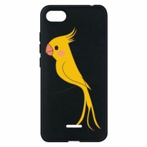 Etui na Xiaomi Redmi 6A Yellow parrot