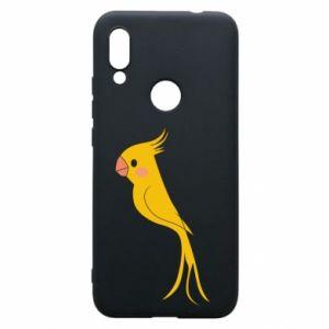 Etui na Xiaomi Redmi 7 Yellow parrot