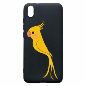 Etui na Xiaomi Redmi 7A Yellow parrot