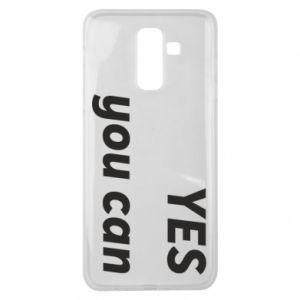 Etui na Samsung J8 2018 YES you can