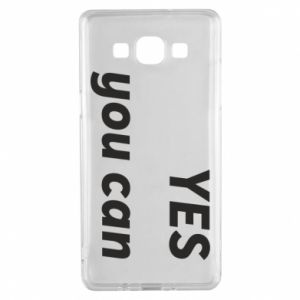 Etui na Samsung A5 2015 YES you can