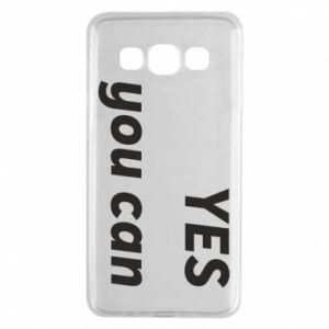 Etui na Samsung A3 2015 YES you can