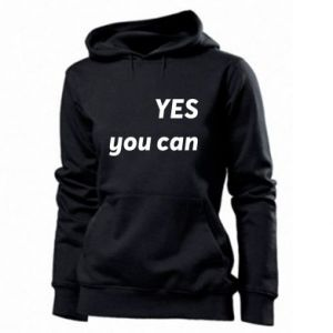 Women's hoodies YES you can