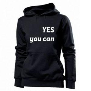 Damska bluza YES you can