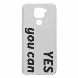 Etui na Xiaomi Redmi Note 9/Redmi 10X YES you can