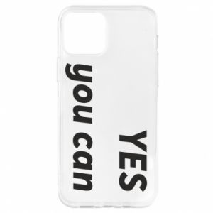 Etui na iPhone 12/12 Pro YES you can