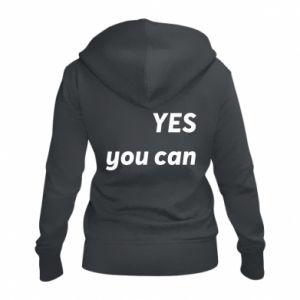 Damska bluza na zamek YES you can