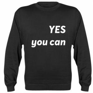 Sweatshirt YES you can