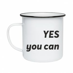 Enameled mug YES you can