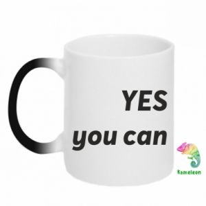 Kubek-kameleon YES you can