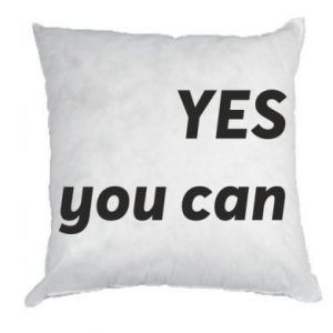 Pillow YES you can