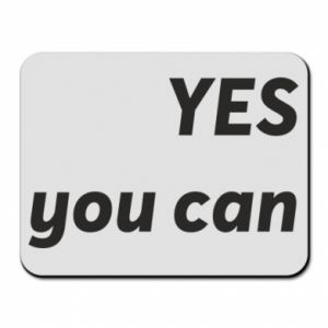 Mouse pad YES you can