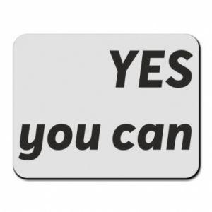 Podkładka pod mysz YES you can