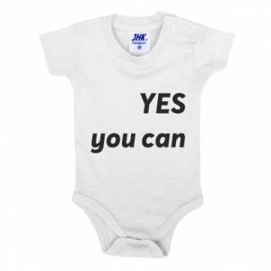 Baby bodysuit YES you can