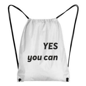 Plecak-worek YES you can