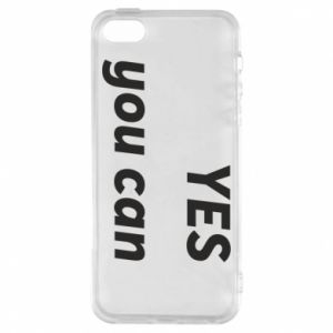 Etui na iPhone 5/5S/SE YES you can