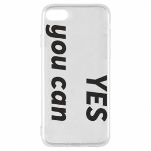 Phone case for iPhone 7 YES you can