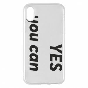 Etui na iPhone X/Xs YES you can