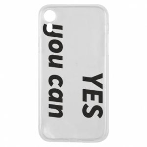 Etui na iPhone XR YES you can
