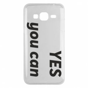 Phone case for Samsung J3 2016 YES you can