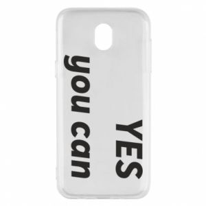 Phone case for Samsung J5 2017 YES you can