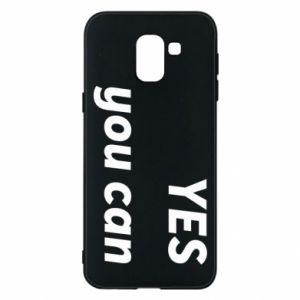 Phone case for Samsung J6 YES you can