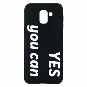 Etui na Samsung J6 YES you can