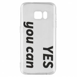 Etui na Samsung S7 YES you can