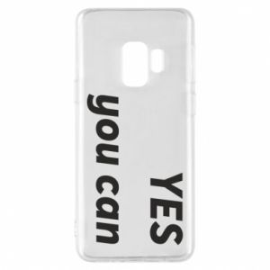 Phone case for Samsung S9 YES you can
