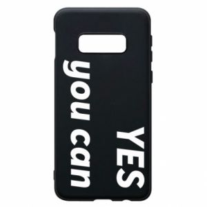 Etui na Samsung S10e YES you can
