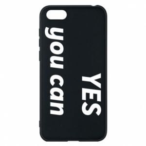 Phone case for Huawei Y5 2018 YES you can