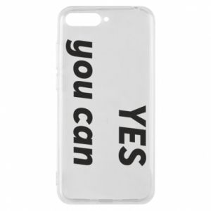 Phone case for Huawei Y6 2018 YES you can