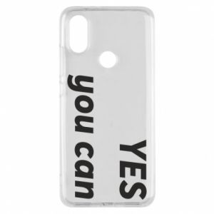 Phone case for Xiaomi Mi A2 YES you can