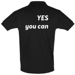 Men's Polo shirt YES you can
