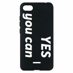 Etui na Xiaomi Redmi 6A YES you can