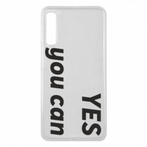 Phone case for Samsung A7 2018 YES you can