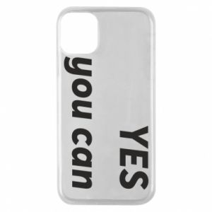 Phone case for iPhone 11 Pro YES you can
