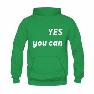 Bluza z kapturem dziecięca YES you can