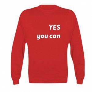 Bluza dziecięca YES you can
